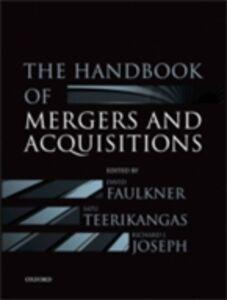 Foto Cover di Handbook of Mergers and Acquisitions, Ebook inglese di  edito da OUP Oxford