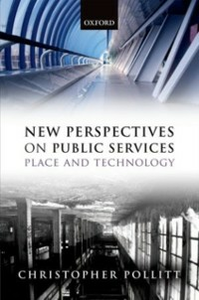 Ebook in inglese New Perspectives on Public Services: Place and Technology Pollitt, Christopher