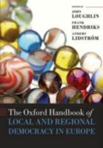 Ebook in inglese Oxford Handbook of Local and Regional Democracy in Europe