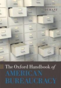 Ebook in inglese Oxford Handbook of American Bureaucracy
