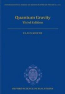 Ebook in inglese Quantum Gravity: Third Edition Kiefer, Claus