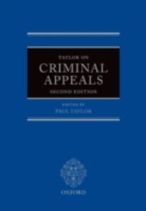 Ebook in inglese Taylor on Criminal Appeals