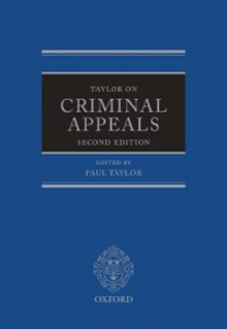 Ebook in inglese Taylor on Criminal Appeals -, -