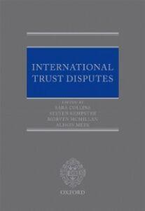 Ebook in inglese International Trust Disputes -, -