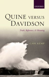 Ebook in inglese Quine versus Davidson: Truth, Reference, and Meaning Kemp, Gary