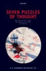 Ebook in inglese Seven Puzzles of Thought: And How to Solve Them: An Originalist Theory of Concepts Sainsbury, Mark , Tye, Michael