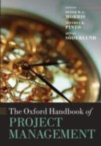 Foto Cover di Oxford Handbook of Project Management, Ebook inglese di  edito da OUP Oxford