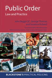 Ebook in inglese Public Order: Law and Practice Beggs QC, John , Rickard, Susanna , Thomas, George