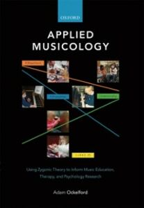 Ebook in inglese Applied Musicology: Using Zygonic Theory to Inform Music Education, Therapy, and Psychology Research Ockelford, Adam