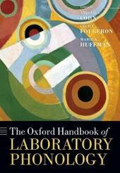 Oxford Handbook of Laboratory Phonology
