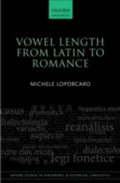 Vowel Length From Latin to Romance