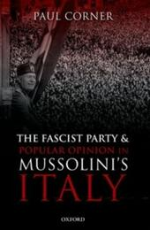 Fascist Party and Popular Opinion in Mussolini's Italy