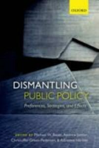 Ebook in inglese Dismantling Public Policy: Preferences, Strategies, and Effects