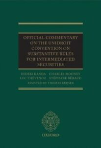 Foto Cover di Official Commentary on the UNIDROIT Convention on Substantive Rules for Intermediated Securities, Ebook inglese di AA.VV edito da OUP Oxford