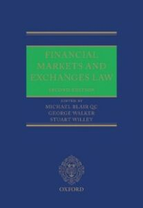 Ebook in inglese Financial Markets and Exchanges Law -, -
