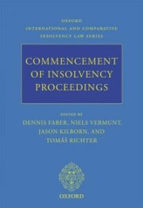 Ebook in inglese Commencement of Insolvency Proceedings