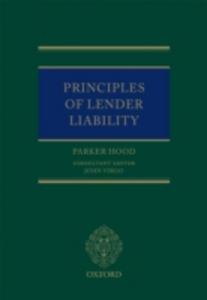 Ebook in inglese Principles of Lender Liability Hood, Parker