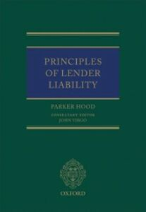 Ebook in inglese Principles of Lender Liability Hood, Parker