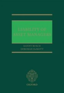 Ebook in inglese Liability of Asset Managers -, -