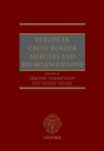 Foto Cover di European Cross-Border Mergers and Reorganisations, Ebook inglese di  edito da OUP Oxford