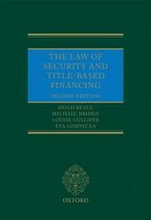 Law of Security and Title-Based Financing