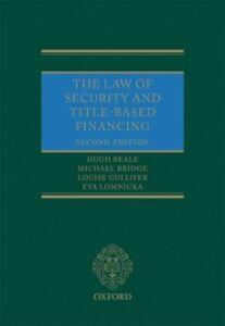 Ebook in inglese Law of Security and Title-Based Financing Beale, Hugh , Bridge, Michael , Gullifer, Louise , Lomnicka, Eva