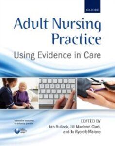Ebook in inglese Adult Nursing Practice: Using evidence in care