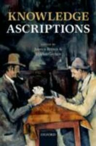 Ebook in inglese Knowledge Ascriptions