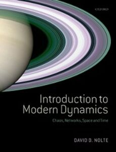 Foto Cover di Introduction to Modern Dynamics: Chaos, Networks, Space and Time, Ebook inglese di David D. Nolte, edito da OUP Oxford