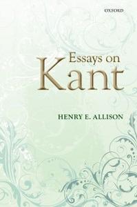 Ebook in inglese Essays on Kant Allison, Henry E.