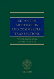 Ebook in inglese Set-Off in Arbitration and Commercial Transactions Gullifer, Louise , Pichonnaz, Pascal