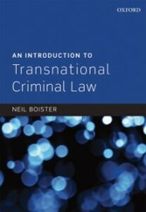Ebook in inglese Introduction to Transnational Criminal Law Boister, Neil