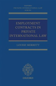 Ebook in inglese Employment Contracts in Private International Law Merrett, Louise