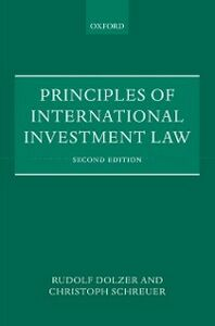 Foto Cover di Principles of International Investment Law, Ebook inglese di Rudolf Dolzer,Christoph Schreuer, edito da OUP Oxford