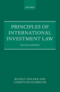 Ebook in inglese Principles of International Investment Law Dolzer, Rudolf , Schreuer, Christoph