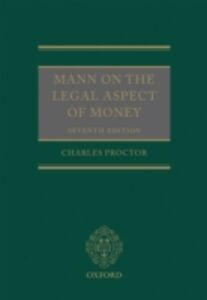 Ebook in inglese Mann on the Legal Aspect of Money Proctor, Charles