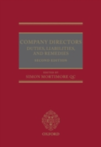 Ebook in inglese Company Directors: Duties, Liabilities, and Remedies -, -