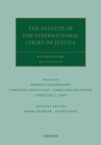 Ebook in inglese Statute of the International Court of Justice: A Commentary -, -