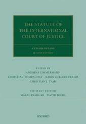 Statute of the International Court of Justice: A Commentary