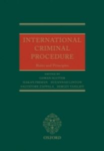 Foto Cover di International Criminal Procedure: Principles and Rules, Ebook inglese di  edito da OUP Oxford