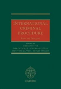 Ebook in inglese International Criminal Procedure: Principles and Rules -, -
