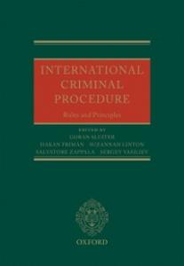 Ebook in inglese International Criminal Procedure: Principles and Rules -, -