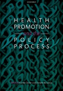Ebook in inglese Health Promotion and the Policy Process