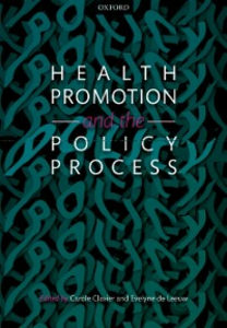 Ebook in inglese Health Promotion and the Policy Process -, -