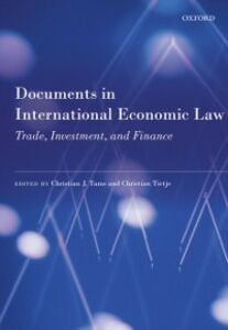 Ebook in inglese Documents in International Economic Law: Trade, Investment, and Finance
