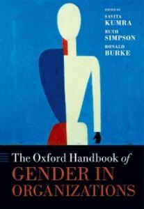 Ebook in inglese Oxford Handbook of Gender in Organizations