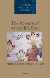 Powers of Aristotles Soul