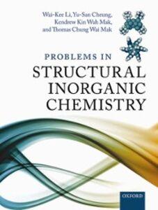 Foto Cover di Problems in Structural Inorganic Chemistry, Ebook inglese di AA.VV edito da OUP Oxford