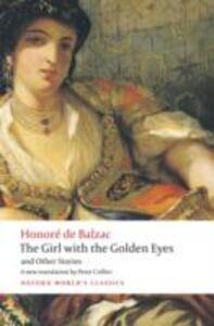 Foto Cover di Girl with the Golden Eyes and Other Stories, Ebook inglese di Honor&eacute, de Balzac, edito da OUP Oxford
