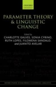 Ebook in inglese Parameter Theory and Linguistic Change